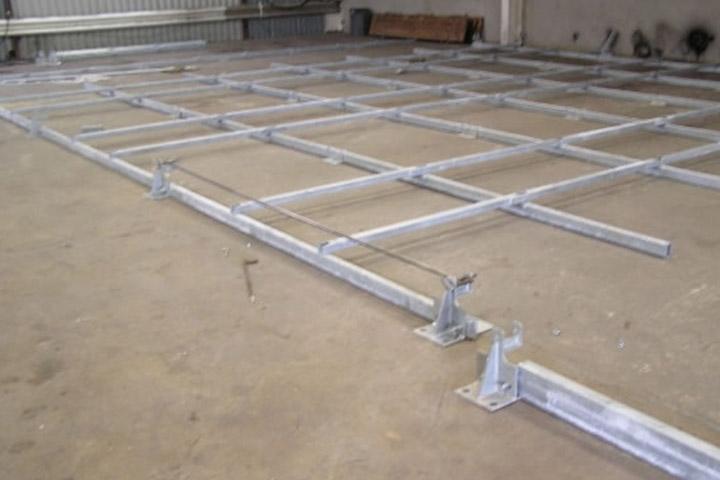 marquee steel sub frame flooring