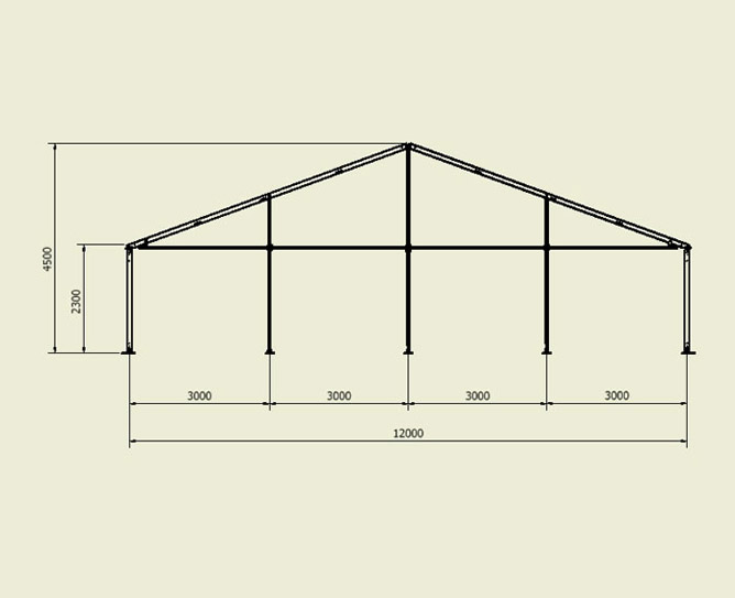 marquee structure cad